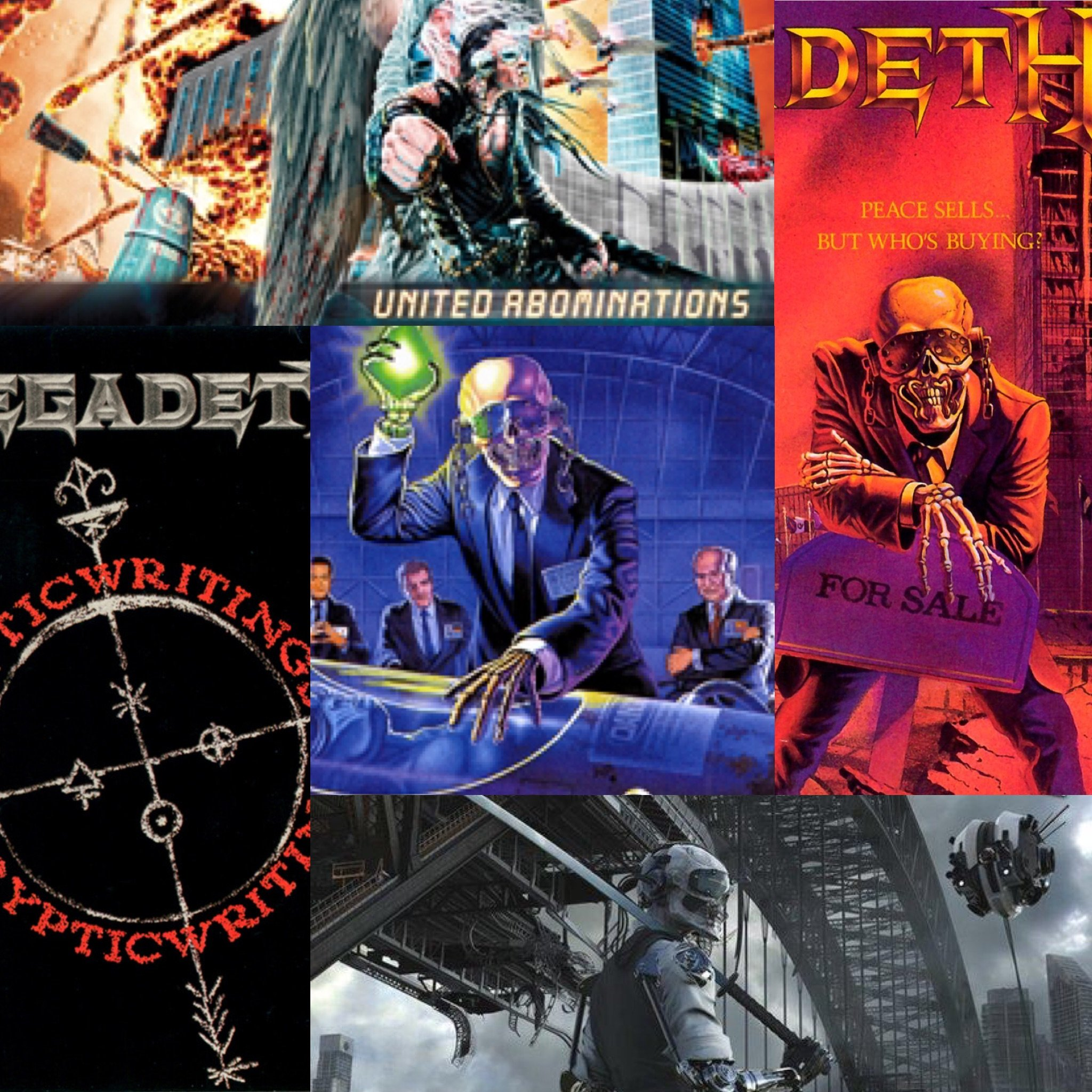 Top 5 Megadeth Albums (Ranked)